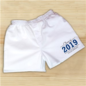 Graduation Personalized Boxers | Graduation Gifts