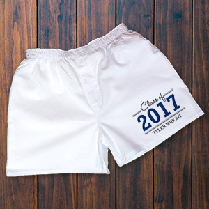 Graduation Personalized Boxers 969444