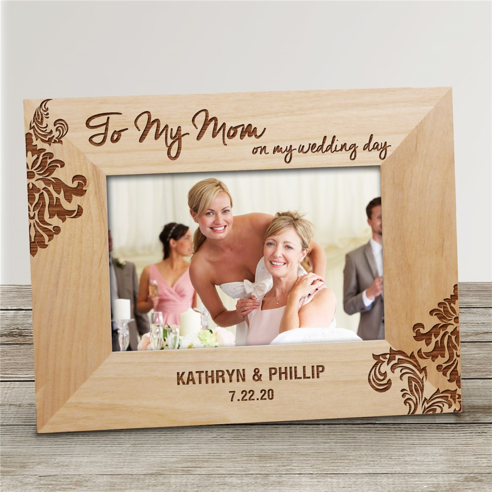 Engraved Parents Wedding Frame | Personalized Picture Frames