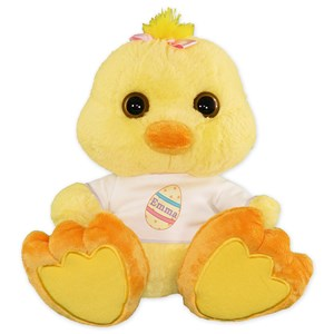 Personalized Easter Egg Chick | Personalized Easter Plush Animal