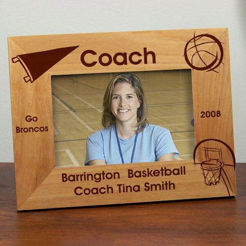 Personalized Coach Frame | Personalized Teacher Gifts
