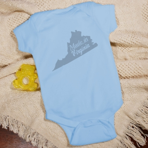 Made In Personalized Infant Creeper