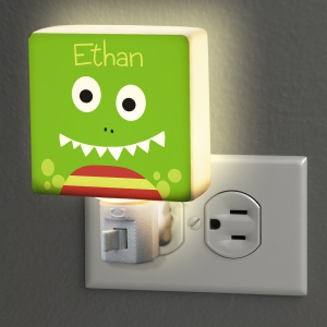 Personalized Dinosaur Night Light