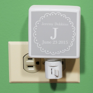 Personalized Baby Night Light