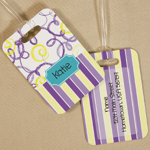 Personalized Bag Tag for Her