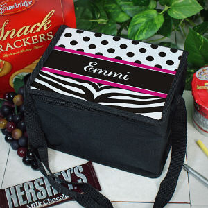 Zebra Print Lunch Cooler