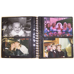 Personalized Birthday Memories Photo Album