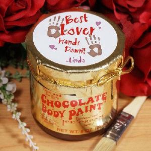 Best Lover Chocolate Body Paint