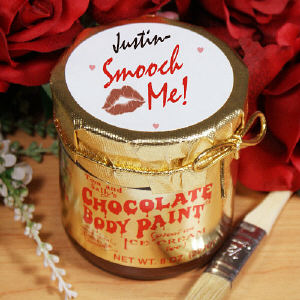 Smooch Me Chocolate Body Paint