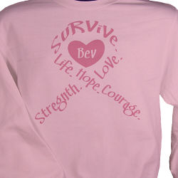 Breast Cancer Awareness Sweatshirt