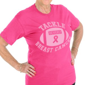 Tackle Breast Cancer Personalized T-Shirt