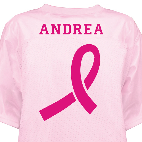 Breast Cancer Awareness Jersey | Personalized T-shirts
