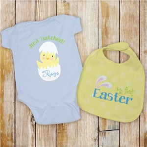 Baby's First Easter Gift | My First Easter Baby Bib