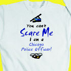 Can't Scare Me Police Officer Sweatshirt