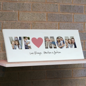 We Love You Photo Canvas
