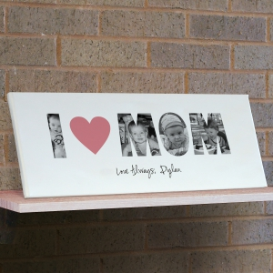 I Love You Photo Canvas