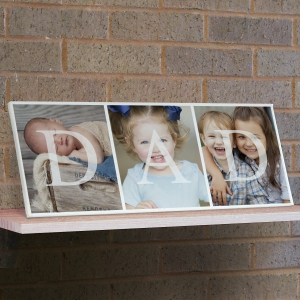 DAD Photo Canvas