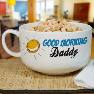Personalized Ceramic Cereal Bowl | Personalized Bowl