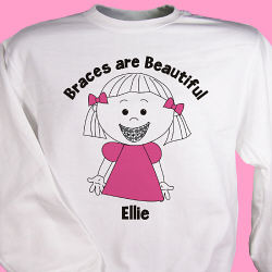 Braces Are Beautiful Youth Sweatshirt