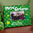Merry Christmas Printed Frame
