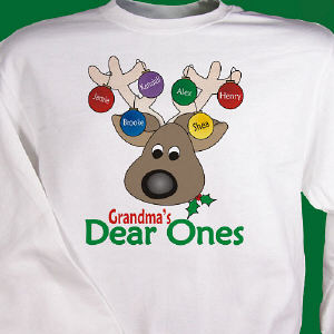 Dear Ones Personalized Sweatshirt