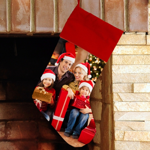 Photo Christmas Stocking | Personalized Christmas Stockings