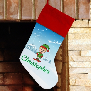 Christmas Character Personalized Stocking U997584