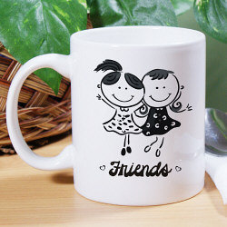 Friends Ceramic Coffee Mug