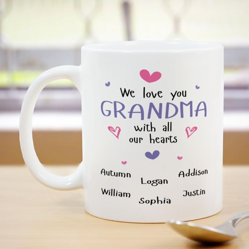 Personalized Grandma Mug | Personalized Gifts For Grandma