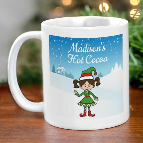 Holiday Character Coffee Mug | Personalized Christmas Mugs