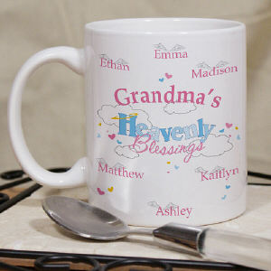 Personalized Heavenly Blessings Mug
