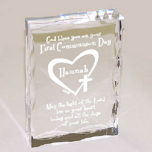 First Communion Personalized Keepsake