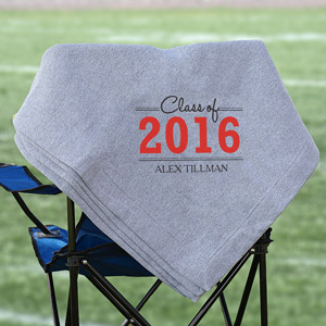 Personalized Graduation Fleece Blanket 83094445