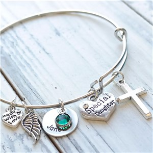 Personalized Daughter Braclet DKBWBDAUG