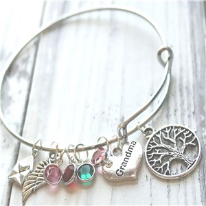 Personalized Grandma Bracelet | Personalized Gifts for Grandma