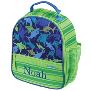 Personalized Shark Lunch Bag