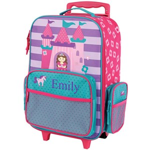 Embroidered Princess Rolling Luggage E000274