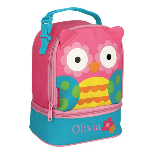 Personalized Owl Lunch Bag E000279