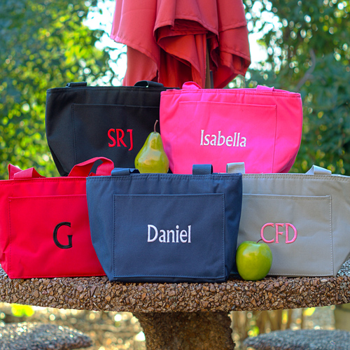 Personalized Lunch Totes E000280X