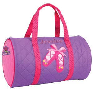 Personalized Ballet Duffel Bag
