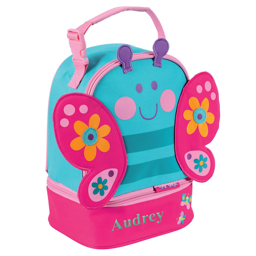 Personalized Butterfly Lunch Pal | Personalized Lunch Bags