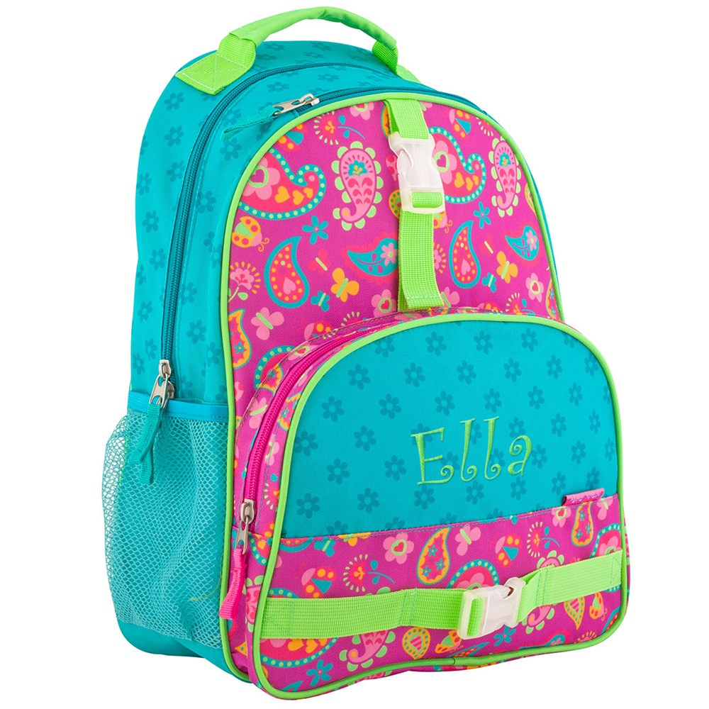 Personalized Paisley Backpack | Personalized Kids Backpacks