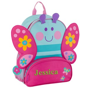 Preschooler Butterfly Backpack | Embroidered Kids Backpack