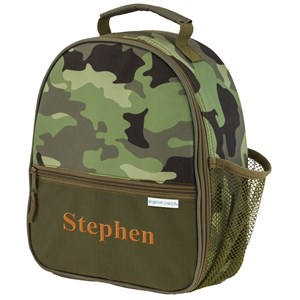 Personalized Lunch Box | Camo Embroidered Lunch Box For Kids