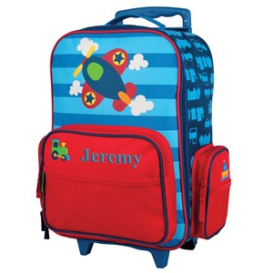 Embroidered Luggage for Boys | Airplane Bags For Kids
