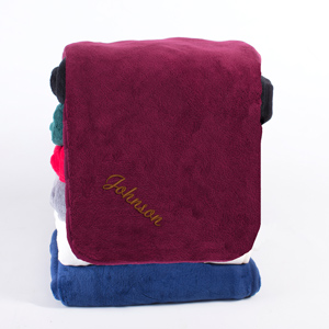 Embroidered Any Name Micro Plush Throw E10043317X