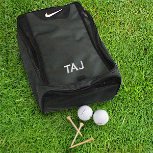 Embroidered Nike Golf Shoe Bag E10357220BK