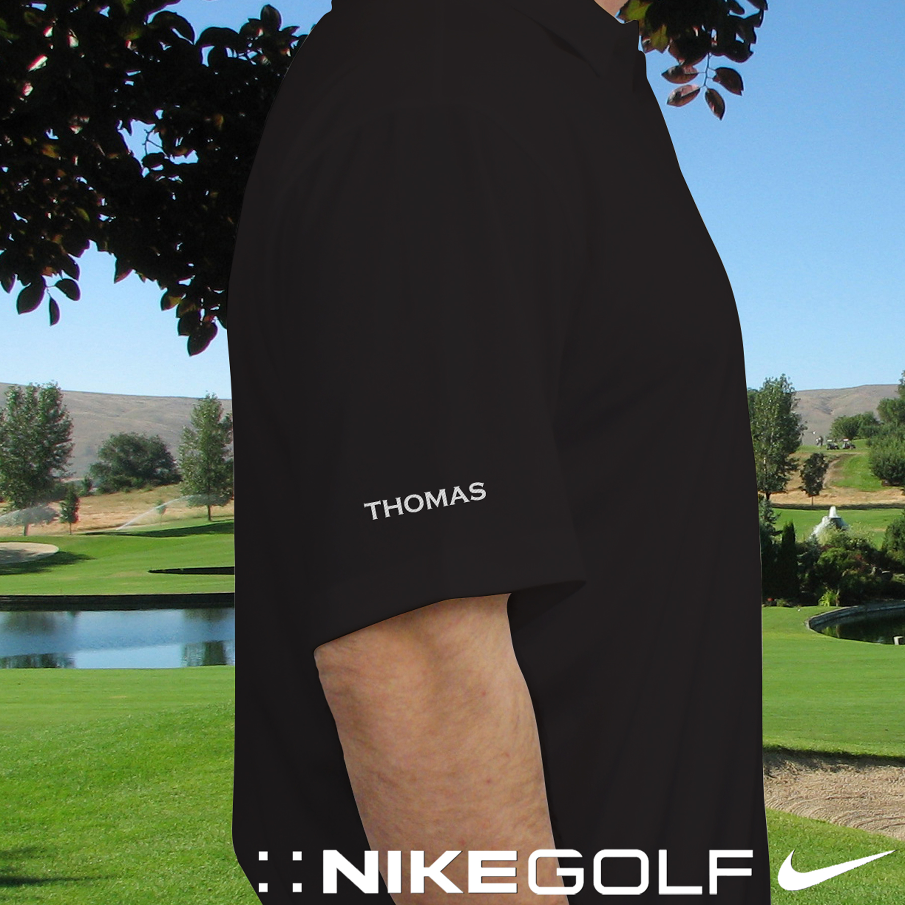 Personalized Nike Polo Golf Shirt | Personalized Grandpa Gifts