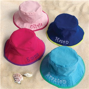 Embroidered Infant Bucket Hat
