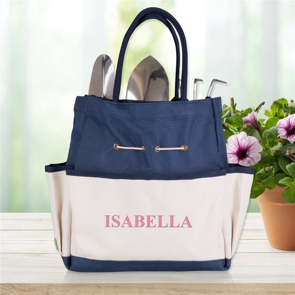 Embroidered Garden Tool Tote Bag | Customized Canvas Bags